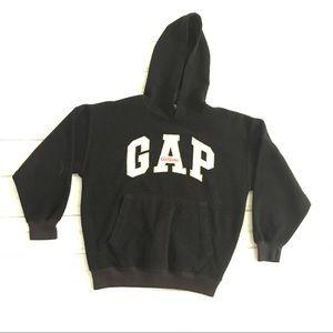 GAP Youth fleece hoodie medium black